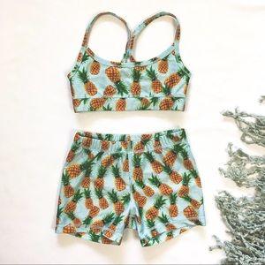 Triple Flip Pineapple Bathingsuit
